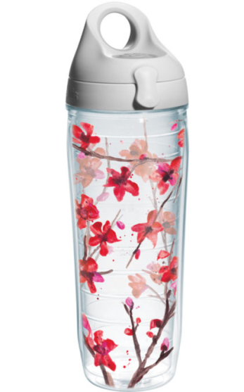 Tervis Springtime Blossom Insulated Water Bottle